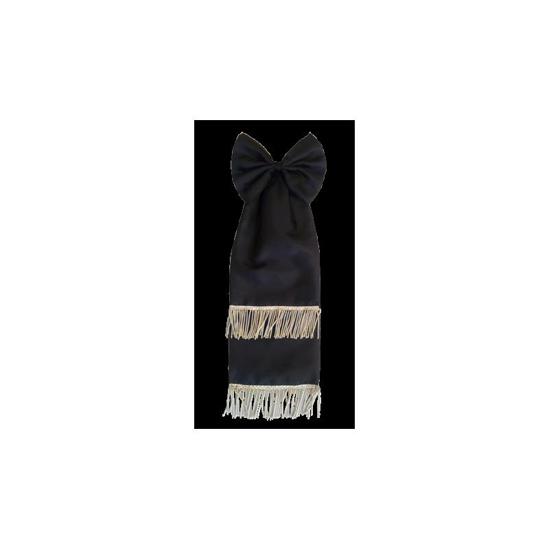 Los Angeles emballage élégant et robuste chaussures d'automne Cravate de deuil pour drapeau D'Anciens Combattants