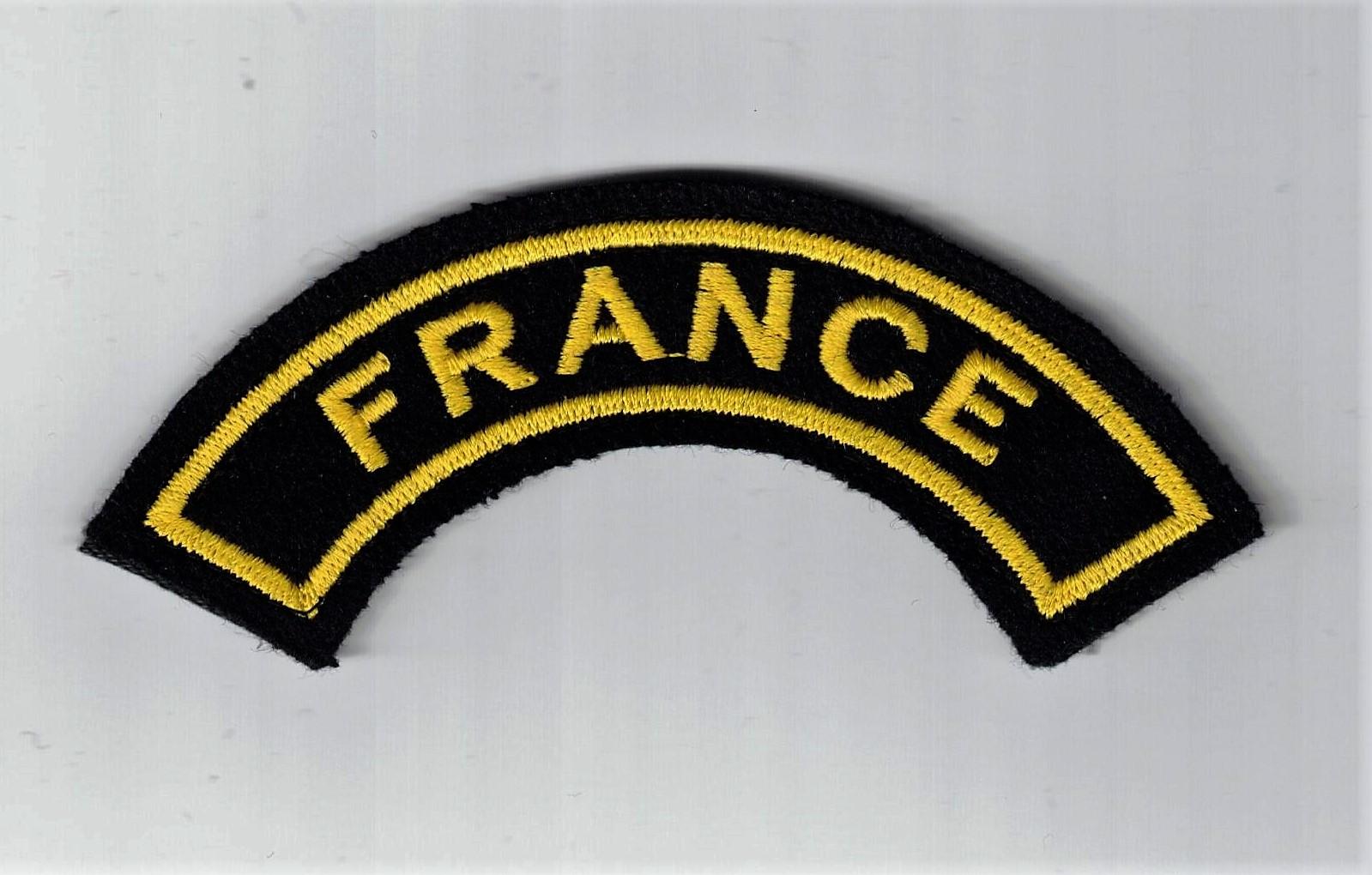 Insigne tissu brodé   Moniteur de Sports  Marine