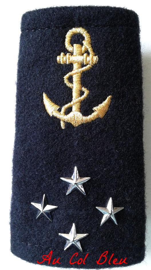 Shoulder Sleeves Vice Admiral 4 Wing Stars Pair