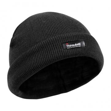 Bonnet Commando Noir Thinsulate